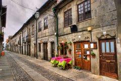 Street of Caminha stock image