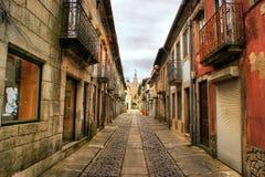 Street of Caminha Royalty Free Stock Photo