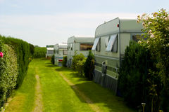 Street of camping trailer. Image of street of camping trailer Stock Photo