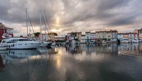 Street canals in Port Grimaud
