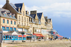 Street in Cancale Royalty Free Stock Photography
