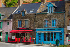 Street in Cancale Royalty Free Stock Images