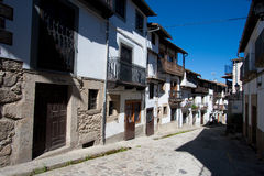 Street of Candelario Stock Images