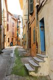 Street in Cannes Royalty Free Stock Images