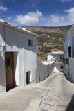 Street of Capileira, Las Alpujarras Stock Images