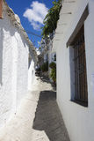 Street of Capileira, Las Alpujarras Stock Image
