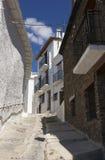 Street of Capileira, Las Alpujarras Stock Photography