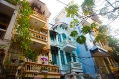 Street in the capital of Vietnam.Hanoi.Vienam Royalty Free Stock Image