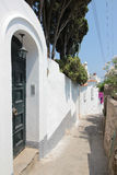 Street in Capri, Italy Stock Photography