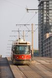 Street car. On a top of hill Stock Images