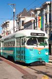 Street Car - Castro, San Francisco. This image shows a Street Car in the Castro, San Francisco Royalty Free Stock Photography