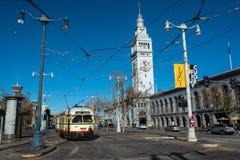Street car in San Francisco Stock Photos