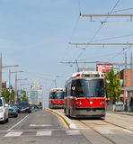 Street Car in Toronto Royalty Free Stock Photo
