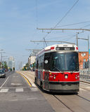 Street Car in Toronto Royalty Free Stock Photos