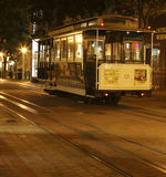 Street car. Trolly in San Fransisco, Powell and Market Stock Image
