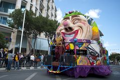 Street carnival Royalty Free Stock Photo