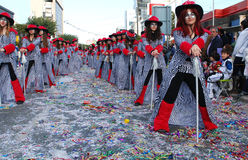 Street carnival parade, Limassol Cyprus Royalty Free Stock Photo