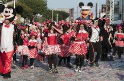 Street Carnival parade, Limassol Cyprus Royalty Free Stock Image