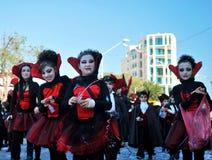 Street carnival - vampires Stock Photography
