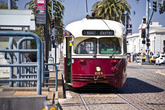 Street Cars of San Francisco Royalty Free Stock Photo