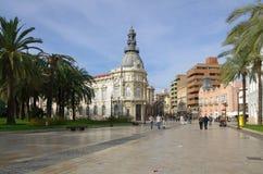 Street of Cartagena Royalty Free Stock Photos