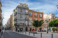 Street of Cartagena Stock Images