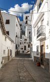 Street of Casares Stock Image