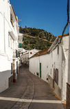 Street of Casares Royalty Free Stock Image