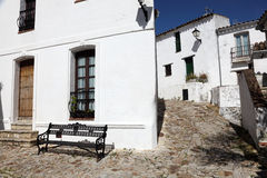 Street in Castellar de la Frontera Royalty Free Stock Photography