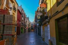 Street of Castellon Stock Images