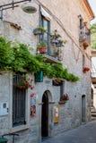 Street in Castelmezzano Italy Royalty Free Stock Photos