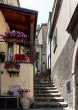 Street in Castelmezzano Italy Royalty Free Stock Photo