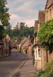 The Street in Castle Combe, Wiltshire Royalty Free Stock Image
