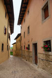 Street in Castle Monte Royalty Free Stock Image