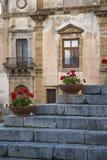 Street in Cefalu, Italy royalty free stock photo