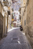 Street in Cefalu - Sicily Royalty Free Stock Photos