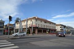 Street in the center of Imatra Stock Photos