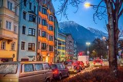 Street of Innsbruck Stock Images