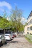 Street in the center of Lappeenranta. Stock Photos