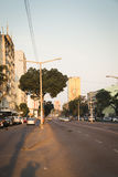 Street in the center of Maputo Royalty Free Stock Photos