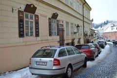 Street in center of Prague Royalty Free Stock Photos