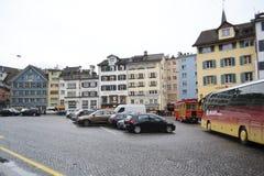 Street in center of Zurich Stock Photo