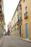 Street in Central Havana, Cuba Royalty Free Stock Photography