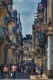 Street in central Havana, Cuba Stock Image