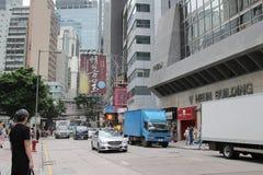 Street at central of hong kong Stock Images