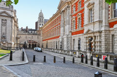Street in Central London. Westminster Royalty Free Stock Photos