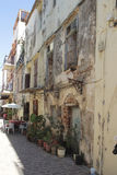 Street in Chania, Greece Stock Image
