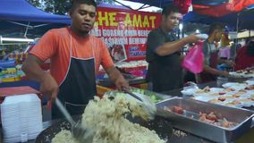 Street Chef stock video footage