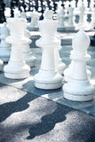 Street chess Stock Photo