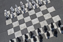 Street chess Stock Photography
